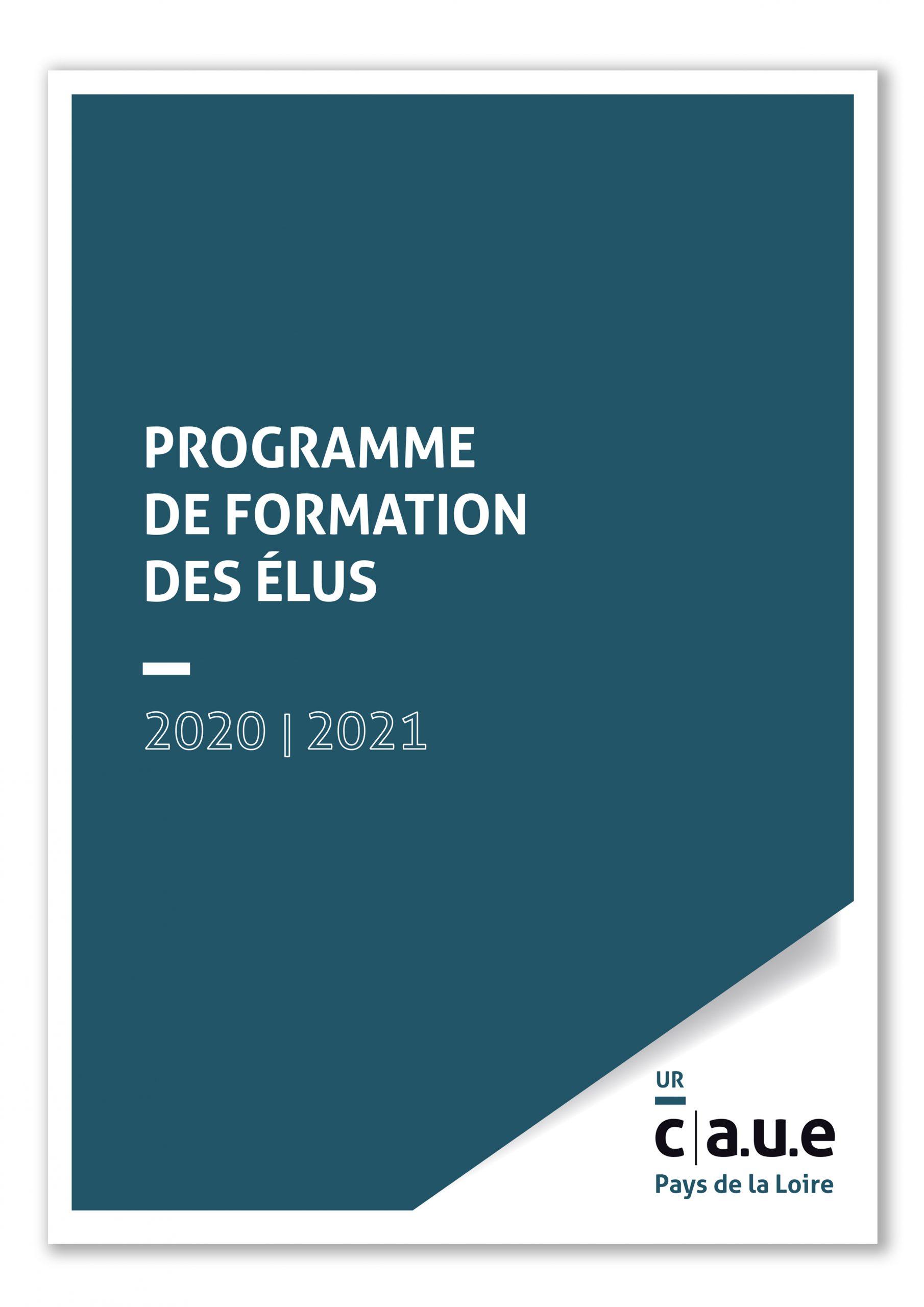 Programme de formation de élus